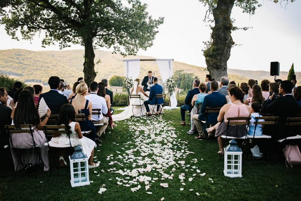 Hochzeit in einem Weinberg - Getting married in a Vinery