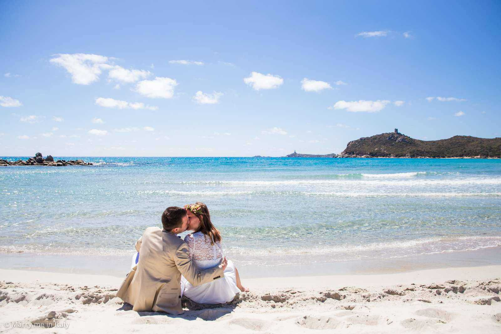 Getting married on sardinia