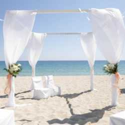 Beach wedding tuscany